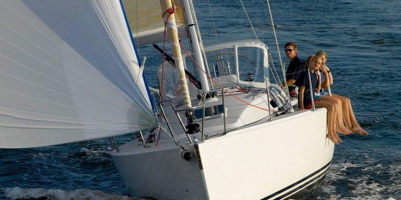 view of sailboat bow