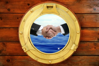 handshake through porthole